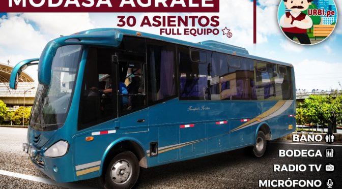 Alquiler minibus 30 pasajeros