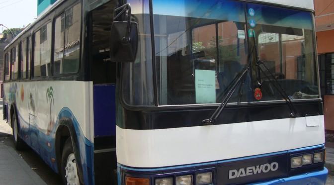 Fotos Omnibus daewoo