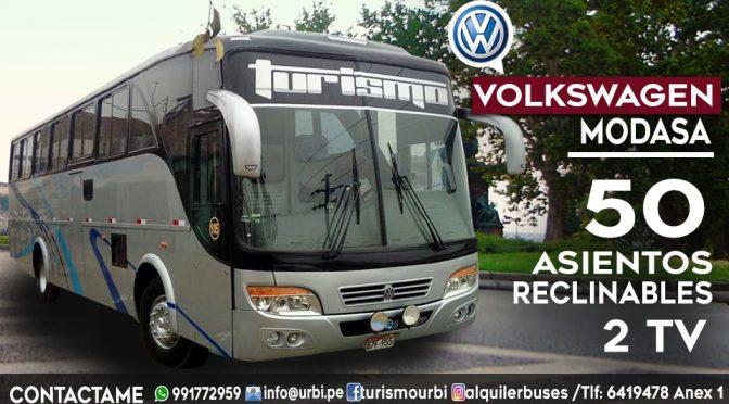 Alquiler bus 45 – 50 asientos para tour en lima