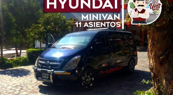 Alquiler minivan lima