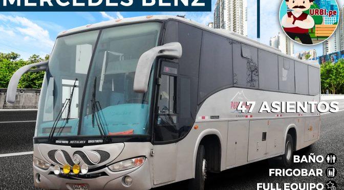 Alquiler bus 47 asientos FULL EQUIPO