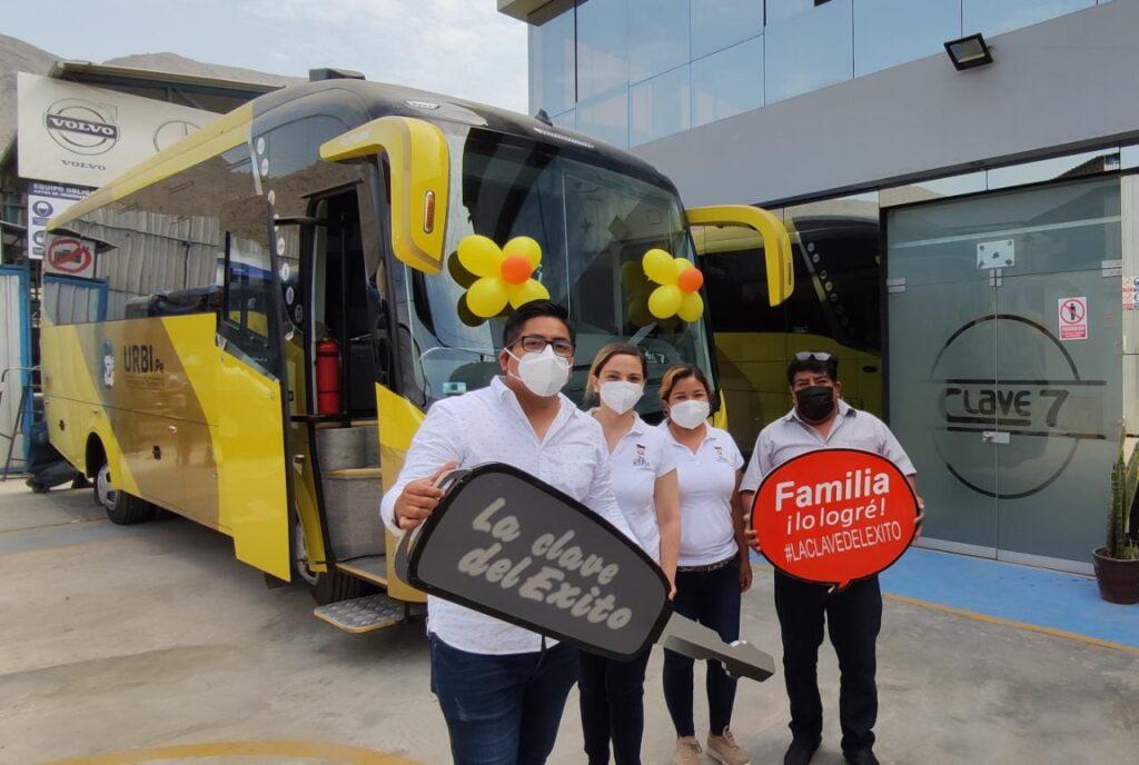 bus para transporte privado